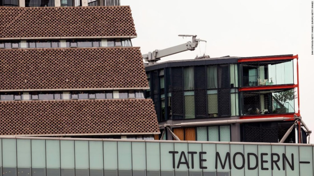 Boy thrown off the 10th floor of Tate Modern gallery has brain and spine injuries