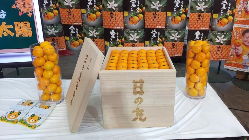Crate of oranges sells for $9,600 in Japan