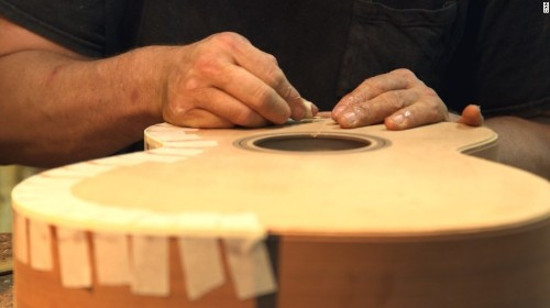 Why country music's biggest names wait a year for these guitars