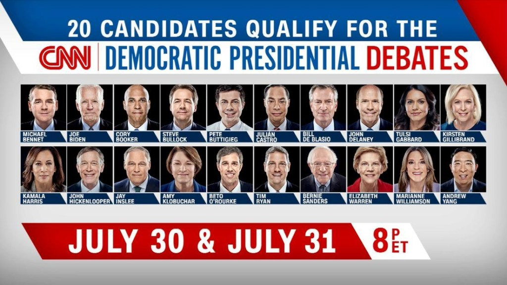 In their own words: The 2020 Democratic candidates share their stories