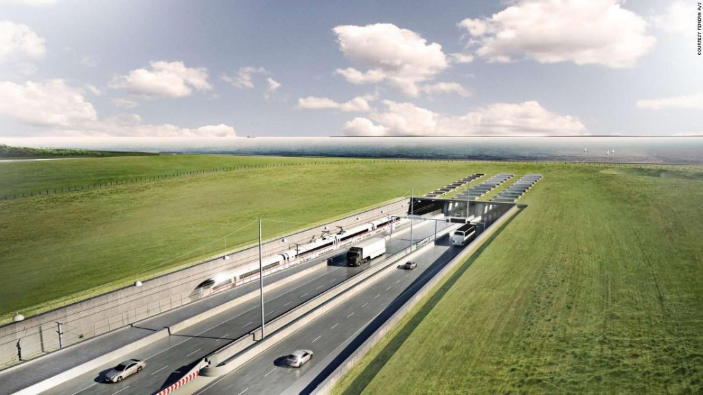 Fehmarnbelt Tunnel will be the world's longest immersed tunnel