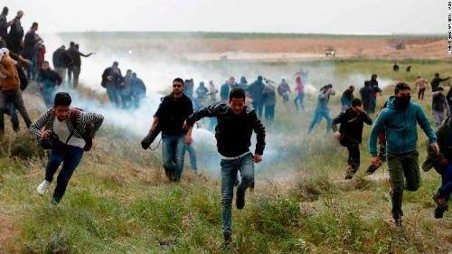 Three Palestinians killed by Israeli forces at Gaza border