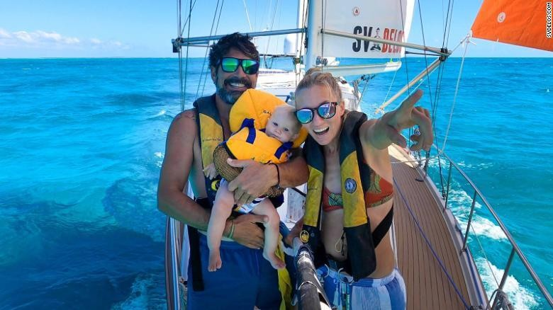 Trip of a lifetime with no end in sight -- life on small boats stuck at sea