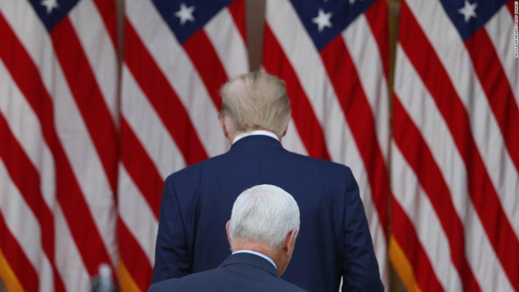 Pence's political future remains clouded by Trump