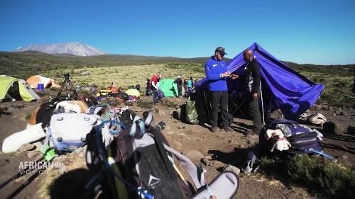 Trekking Kilimanjaro with Africa's top mountain man