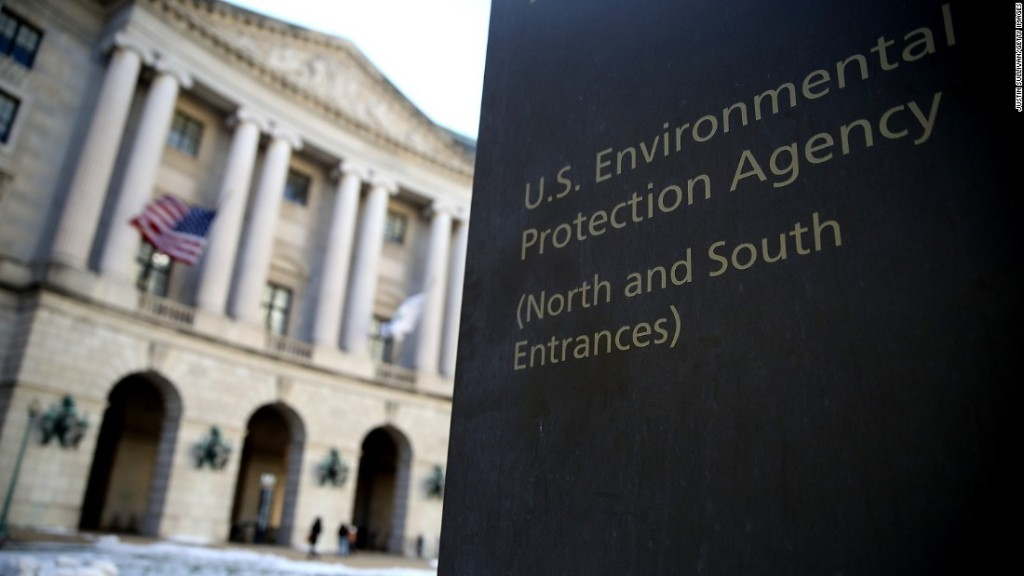 EPA removes climate change references from website, report says