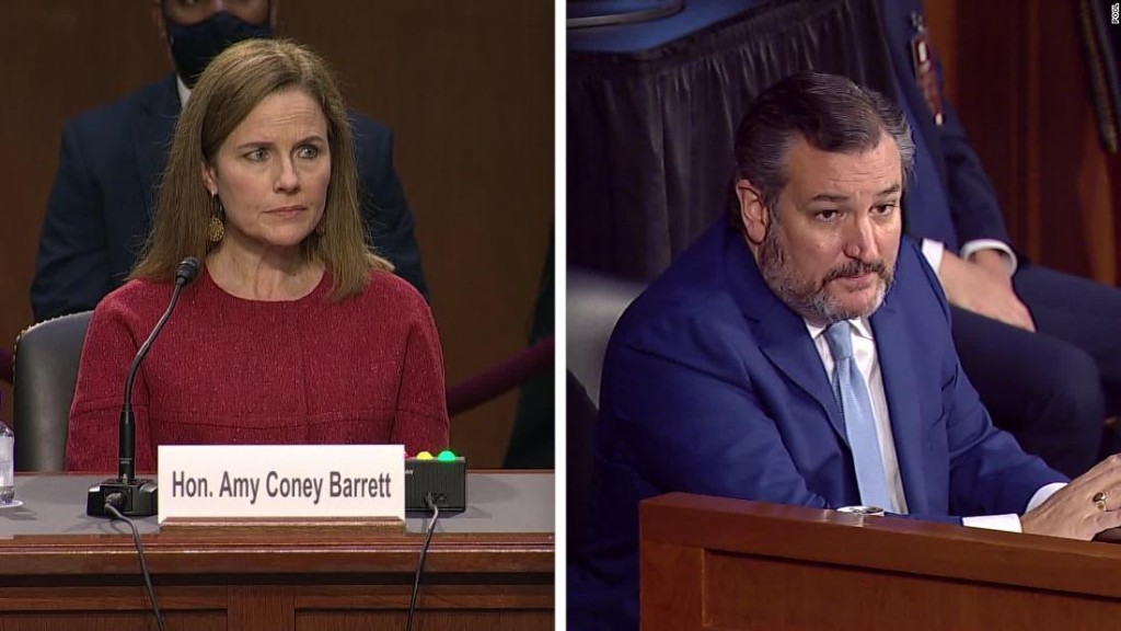 Opinion: Really, Sen. Cruz? This is what you asked Judge Barrett