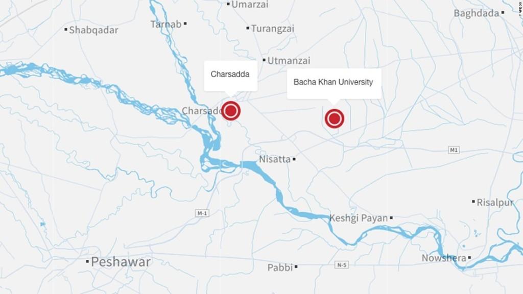 Charsadda attack: 22 dead at Bacha Khan University - CNN