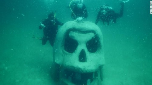 America's first underwater museum opens