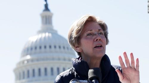 Trump says 'who cares' after Warren takes DNA test, denies $1 million offer