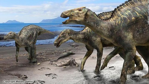 A new dinosaur has been unearthed, and it's the first of its kind