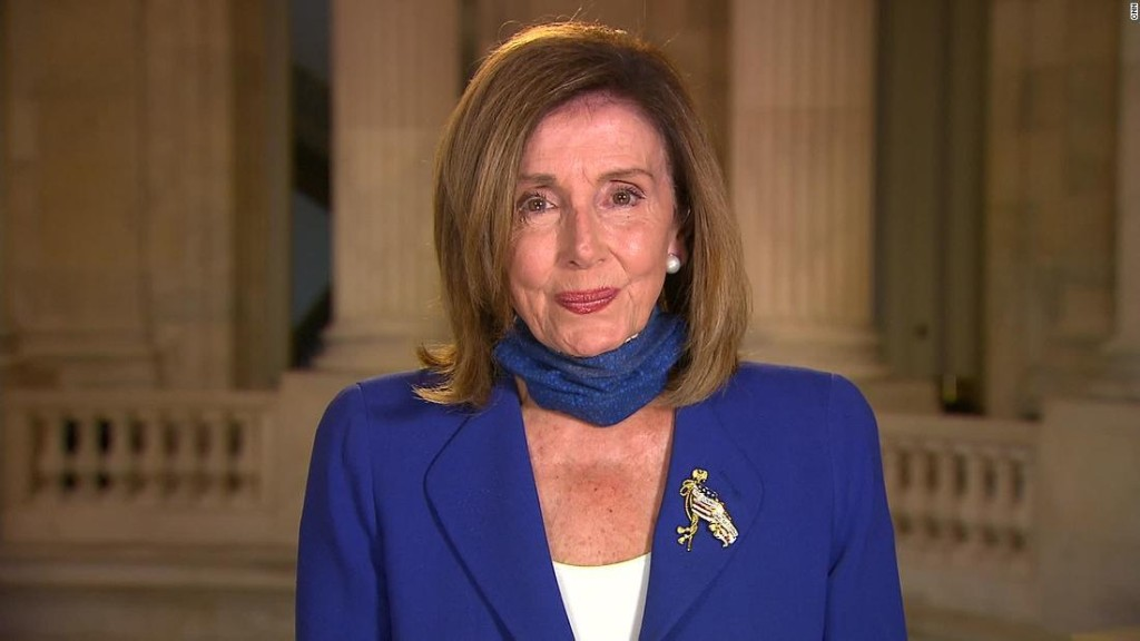 Pelosi on the coronavirus stimulus price tag she's willing to settle for: '$3.4 trillion'
