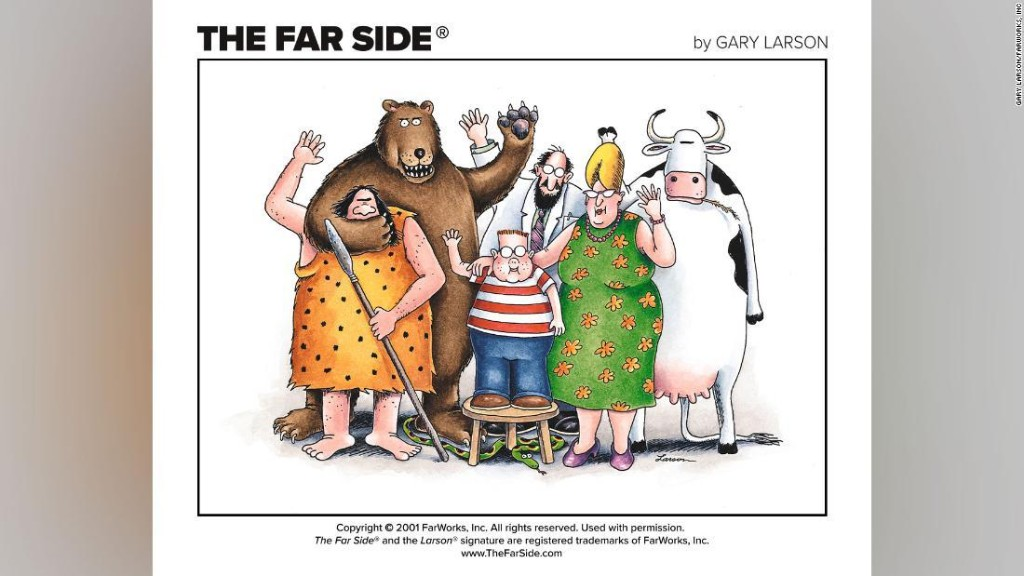 'Far Side' cartoonist Gary Larson publishes first new work in 25 years