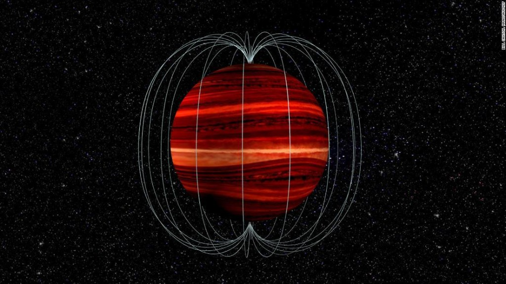Astronomers clock extremely high winds on an object outside of our solar system