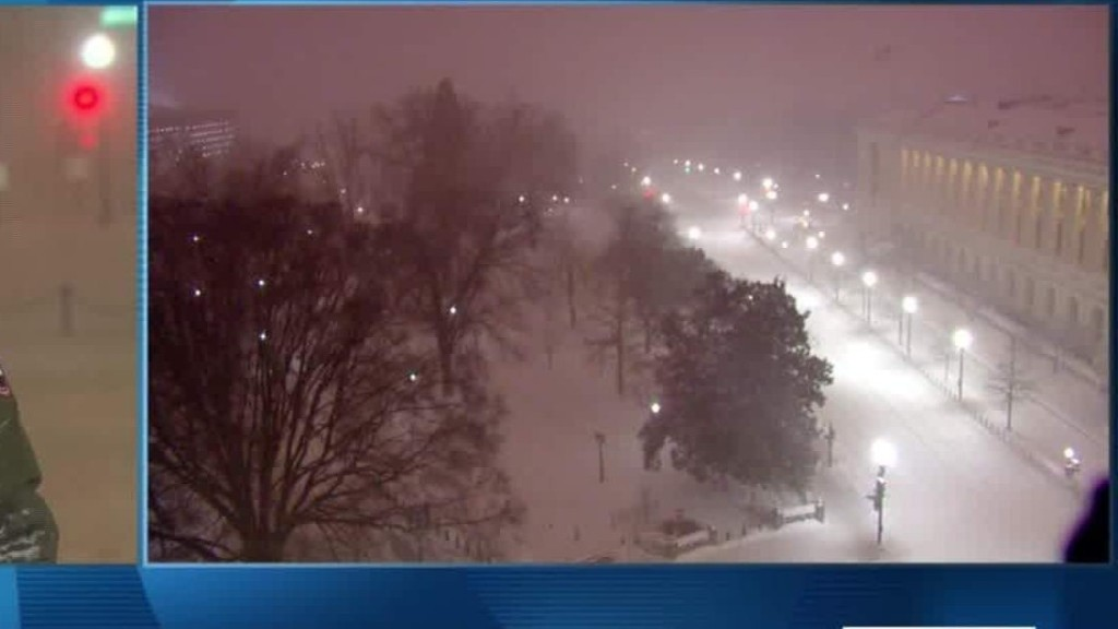 Winter storm inundates the Mid-Atlantic and East Coast