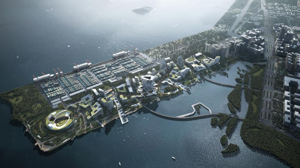 Tencent is building a Monaco-sized 'city of the future' in Shenzhen