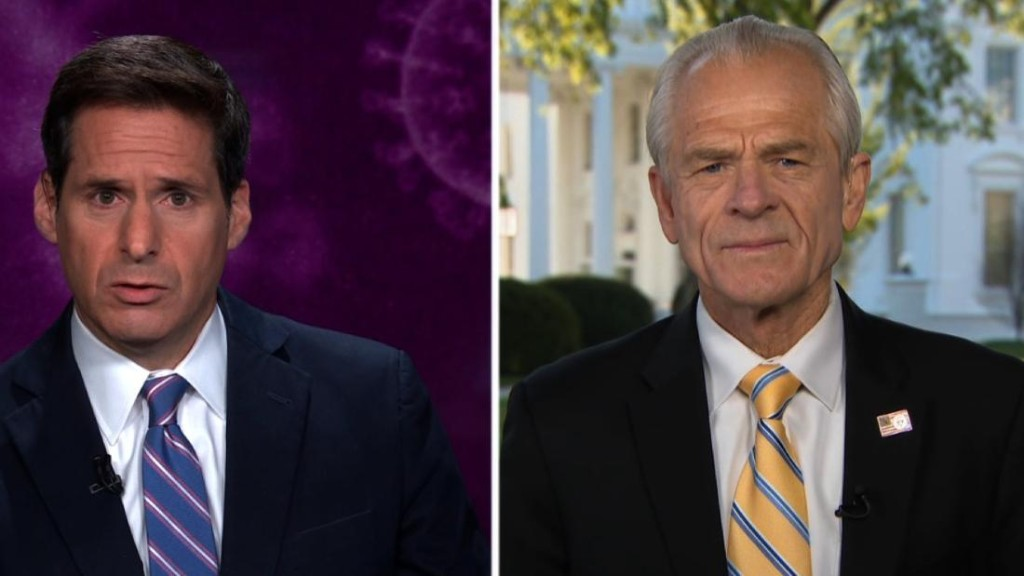 Peter Navarro on his qualifications to disagree with Dr. Anthony Fauci on coronavirus treatments: 'I'm a social scientist'