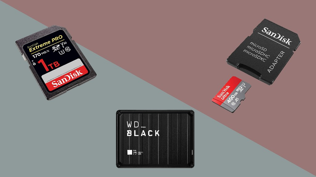 Save big on storage space with Amazon's Gold Box Deals on WD and SanDisk products