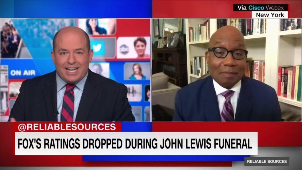 Many Fox viewers changed the channel during John Lewis funeral - CNN Video
