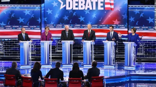 Chris Cillizza's winners and losers from the 9th Democratic debate