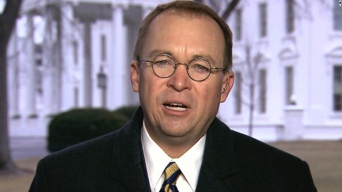 Mick Mulvaney just said the swampiest thing ever