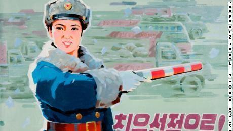 What North Korean propaganda posters reveal