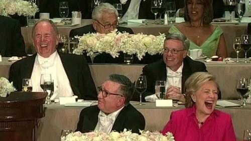 Al Smith dinner: Most memorable lines from Trump, Clinton