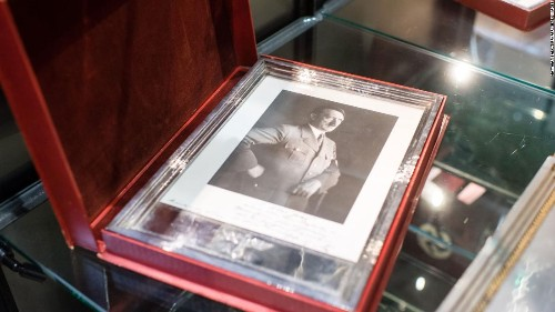 A wealthy businessman bought up Hitler memorabilia then handed it over to a Jewish group