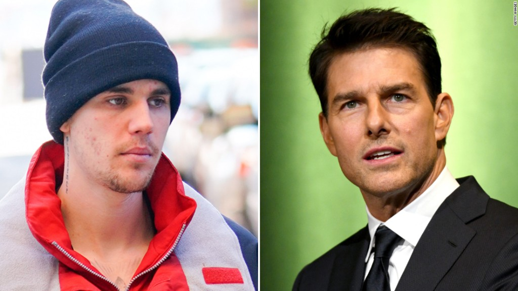 Justin Bieber has challenged Tom Cruise to a fight and we are so confused