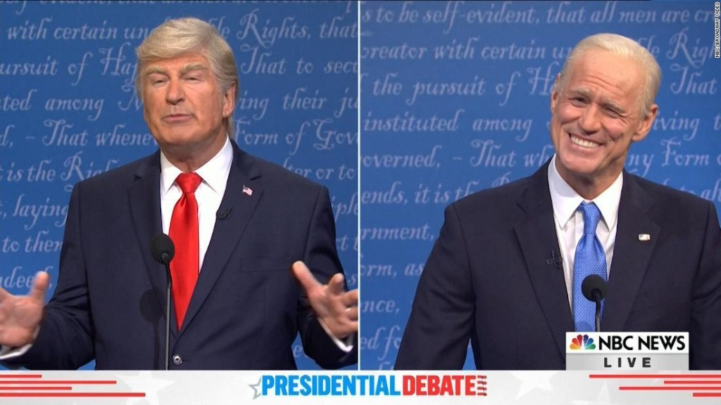 'SNL' takes on the final presidential debate