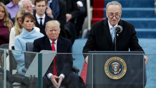 Schumer: Booing 'speaks poorly' of some in inauguration crowd