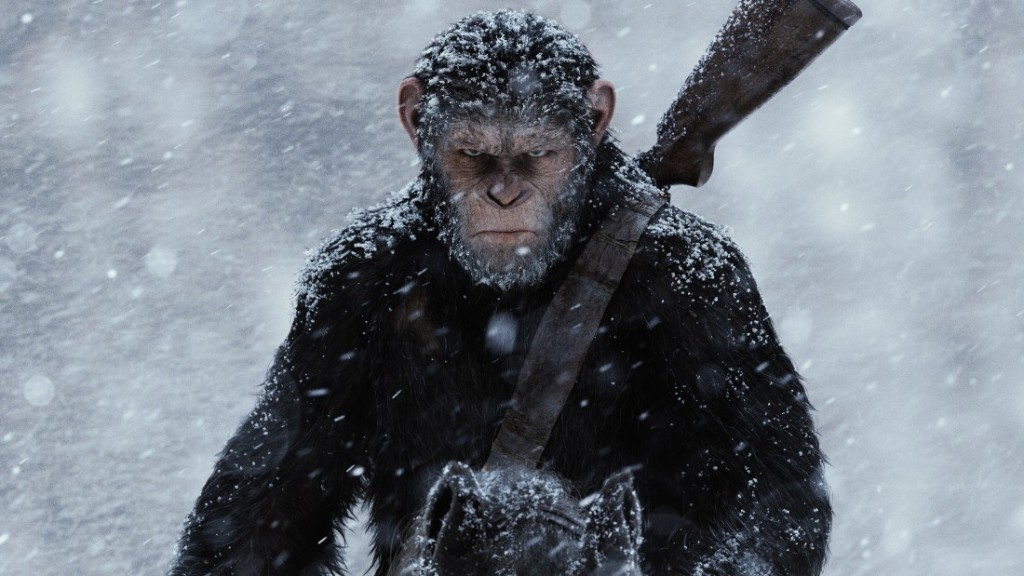 'Planet of the Apes' closes trilogy with rousing 'War'
