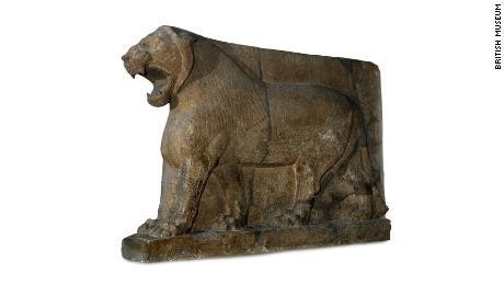 ISIS destroyed the Lion of Mosul sculpture. It was re-created with 3D printing and crowdsourced images