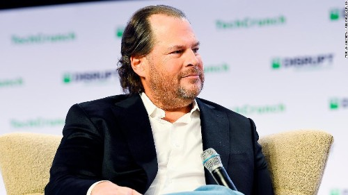 Marc Benioff says it's time to break up Facebook