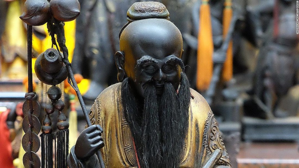 Looking for a mate? Head to this Taiwan temple for a meeting with the 'Love God'