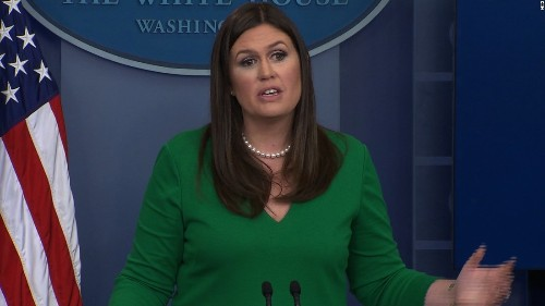 Huckabee Sanders on Scaramucci: 'Sometimes he's a passionate guy'