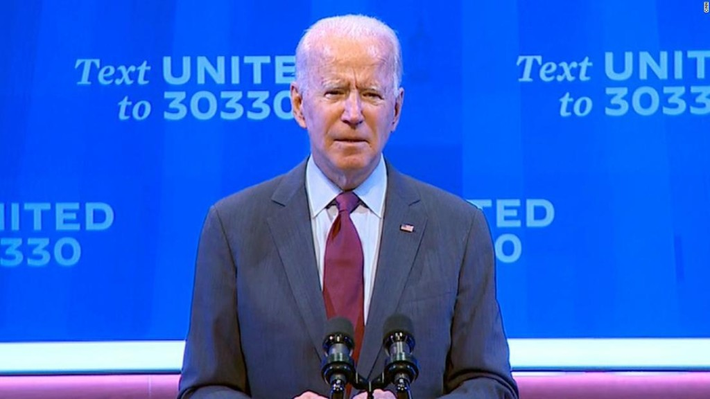 Biden reacts to Trump's nomination of Amy Coney Barrett