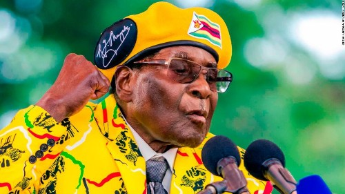 Robert Mugabe, who once said 'only God' could ever remove him, dies at 95