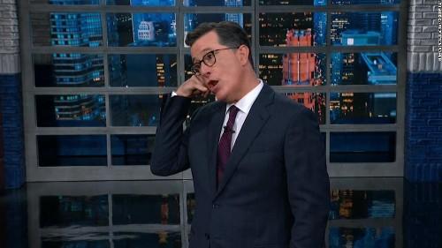 Colbert wormed his way into Trump's head