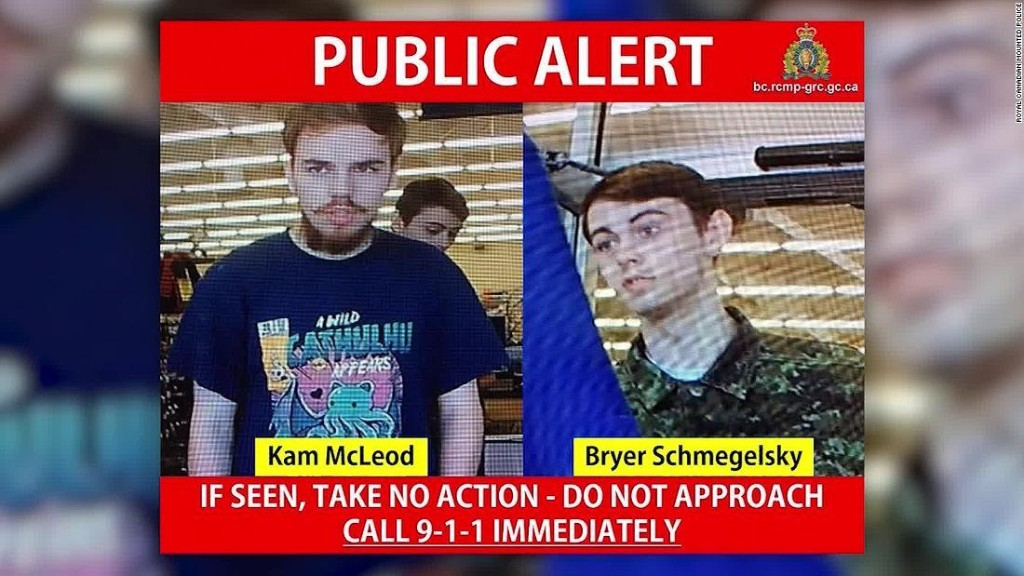 A young couple was last seen embracing at a gas station. Now police are searching for their killers