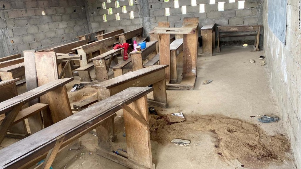 Gunmen attack school in Cameroon, killing several children