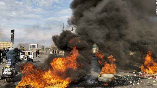 12 dead, hundreds wounded as protesters clash with Iraq security forces
