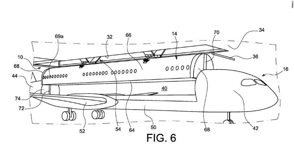 Innovative or impossible? Airbus patent detaches the cabin from the airplane