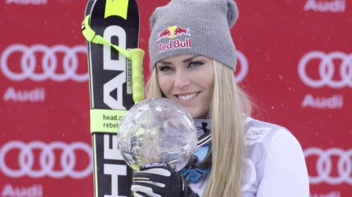 Lindsey Vonn: Ski star quips time to focus on 'beach bod' and healing