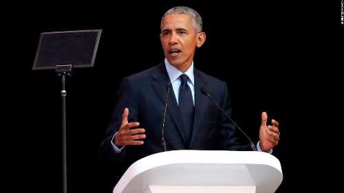 Obama points to 'uncertain times' after Trump conference