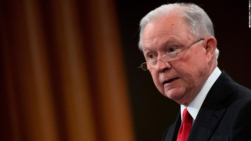 Trump campaign sends letter to Sessions demanding he stop invoking Trump