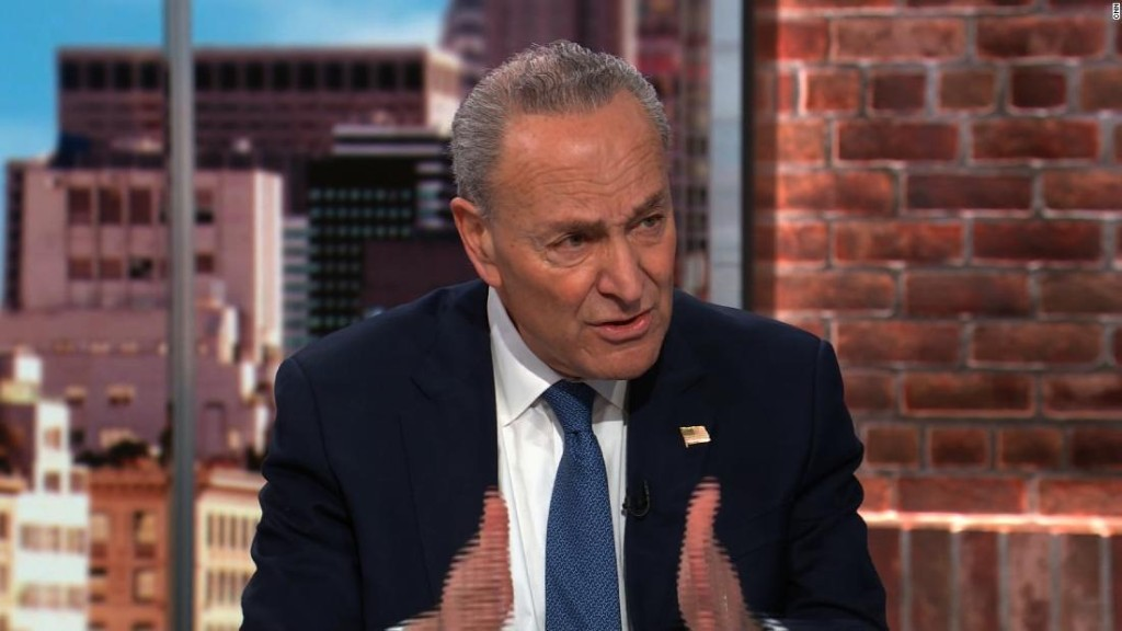 Schumer says McConnell is 'totally out of line' for taking cues from White House on impeachment