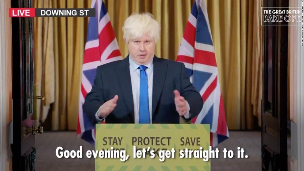 Matt Lucas revives his Boris Johnson spoof for 'Great British Bake Off' debut