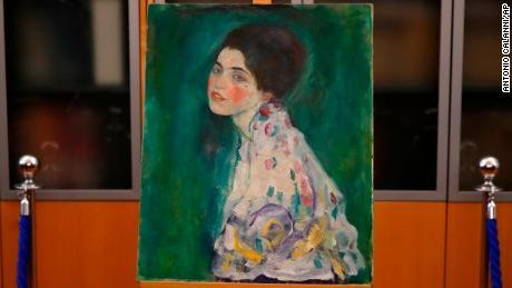 Painting found hidden in Italian gallery wall confirmed as long-lost Klimt