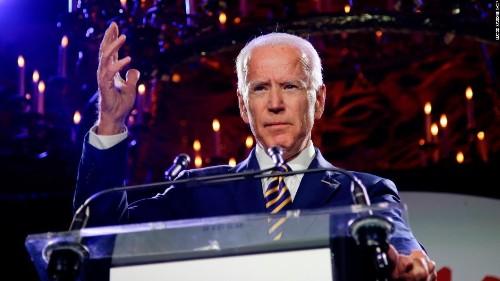 Biden criticizes 'white man's culture' as he talks violence against women